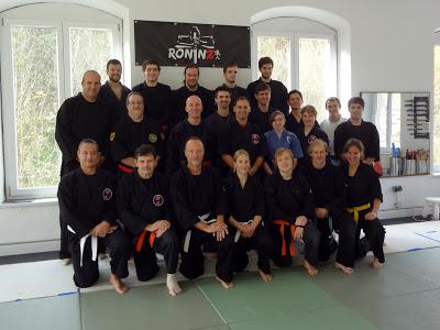 Ju-Jutsu-Do Lehrgang mit Hans-Juergen Eul 26.-27. Oktober 2013 in RoninZ Kampfkunstschule / Weingarten