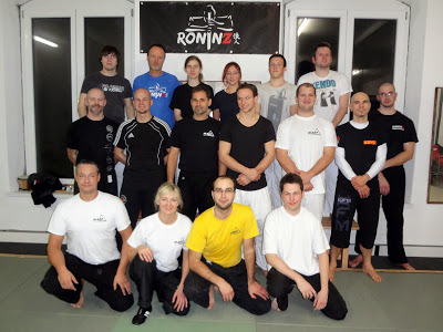 IKAEF Fundamentals - All aspects of filipino martial arts 30. November - 01. Dezember 2013 in RoninZ Kampfkunstschule Weingarten