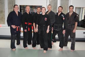Die Referenten vom Ju-Jutsu-Do-Lehrgang 17.-18. Maerz 2012 in RoninZ Kampfkunstschule