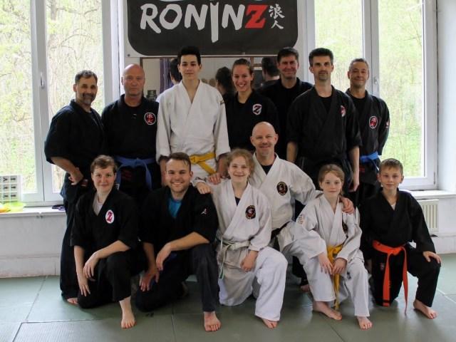 Goshindo mit Fritz Greutert 06.-07. Mai 2017 in RoninZ Kampfkunstschule