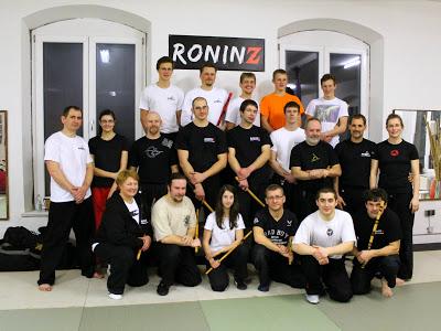 CINCO TERO ESCRIMA mit Charles Goossens am 09.-10. Februar 2013 in RoninZ Kampfkunstschule/Weingarten