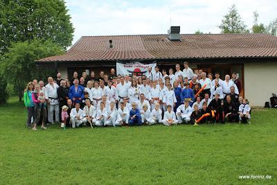 Die Teilnehmer des Budo-Zeltlager 2016
