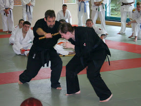 Ju-Jutsu Bundeslehrgang Technik mit Andy Guettner am 08.05.2010 in Sangerhausen / Sachsen Anhalt