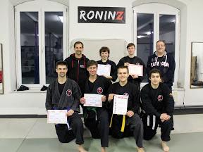 Ju-Jutsu-Do Pruefung am 25. November 2012 in RoninZ Kampfkunstschule