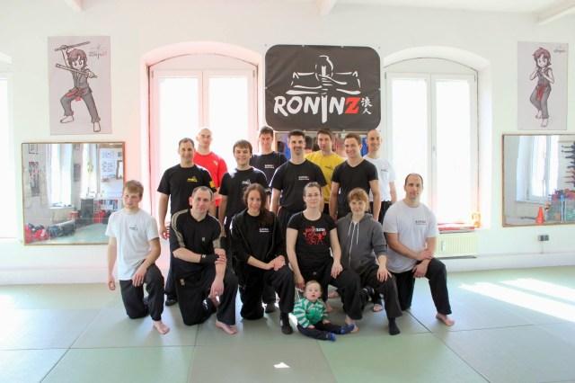 Boxen und Panantukan Workshop 28.03.2015 in RoninZ Kampfkuntschule
