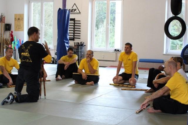 IKAEF Fundamentals 19.-20.09.2015 in RoninZ Kampfkunstschule