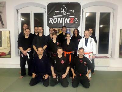 Bujinkan Budo Taijutsu mit Zeljko Dujic und Johannes Scherer 06.03.2015 in RoninZ Kampfkunstschule