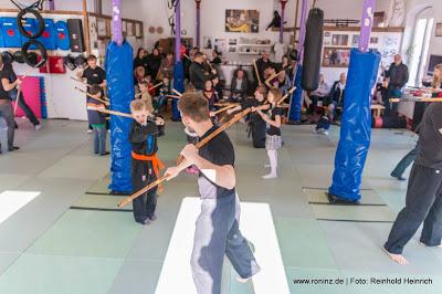 Tag der offenen Tuer am 20.03.2016 in in RoninZ Kampfkunstschule