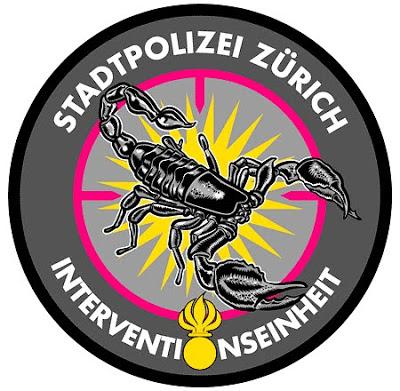 Polizeitraining bei der Stadtpolizei Zuerich 21. Mai 2013