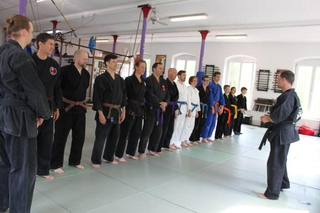 Ju-Jutsu-Do Frühjahrsseminar  im April.