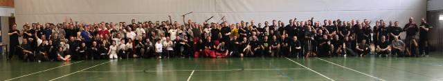 Teilnehmer/innen und Trainer des FMA Gatherings 16.-17. Maerz 2019 in Karlsruhe