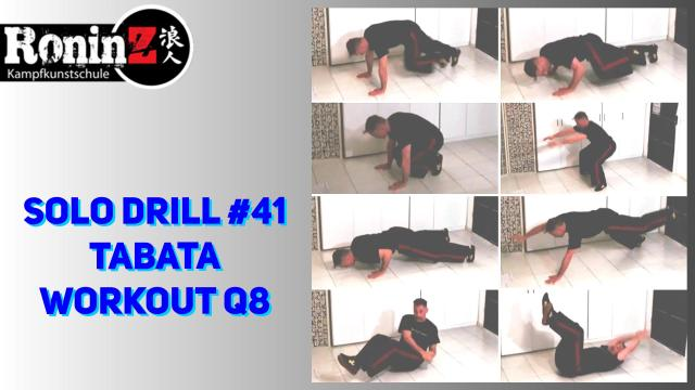 Solo Drill 41 Tabata Workout Q8
