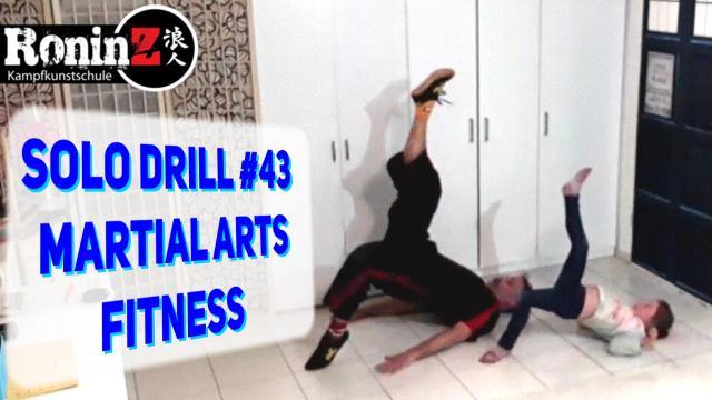 Solo Drill 43 Martial Arts Fitness