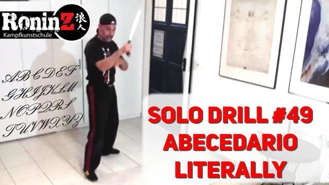Solo Drill 49 ABECEDARIO LITERALLY