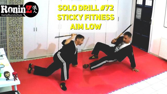 Solo Drill 72 Sticky Fitness Aim Low