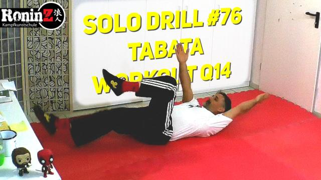 Solo Drill 76 Tabata Workout Q14