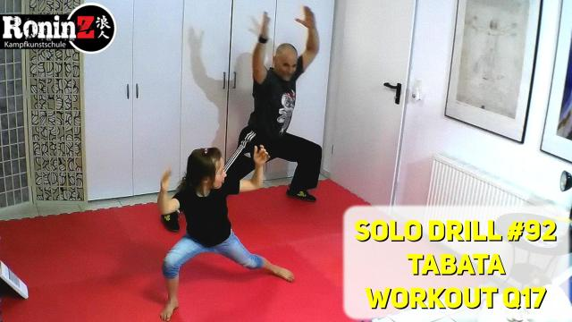 Solo Drill 92 Tabata Workout Q17