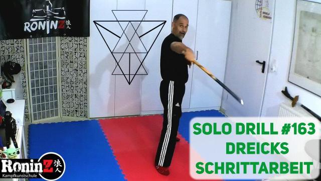 Solo Drill 163 Dreiecksschrittarbeit