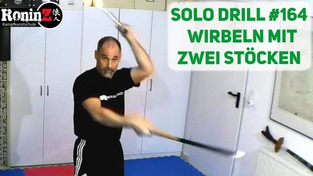 Solo Drill 164 Wirbeln mit zwei Stöcken