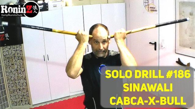 Solo Drill 186 Sinawali - Cabca-X-Bull