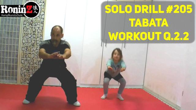 Solo Drill 205 Tabata Workout Q.2.2