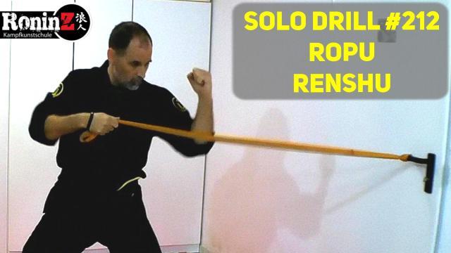 Solo Drill 212 Ropu Renshu