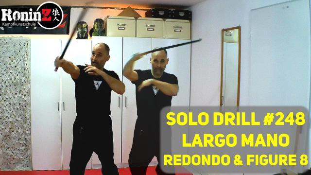Solo Drill 248 Largo Mano Redondo & Figure 8
