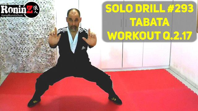 Solo Drill 293 Tabata Workout Q.2.17