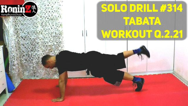 Solo Drill 314 Tabata Workout Q.2.21