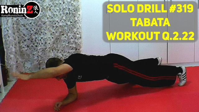 Solo Drill 319 Tabata Workout Q.2.22