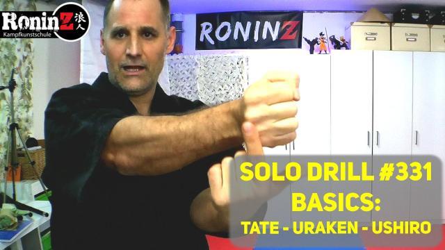 Solo Drill 331 Basics Tate - Uraken - Ushiro