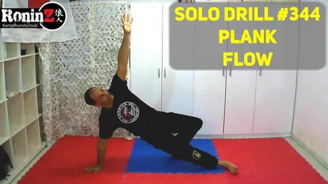 Solo Drill 344 Plank Flow