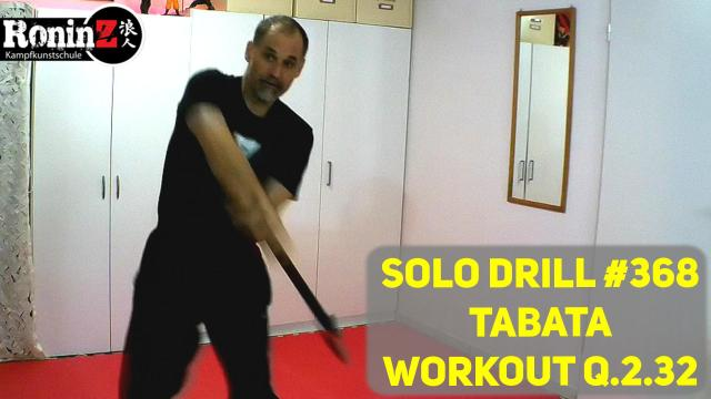 Solo Drill 368 Tabata Workout Q.2.32