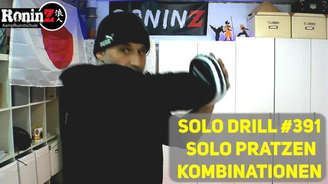 Solo Drill 391 Solo Pratzen Kombinationen