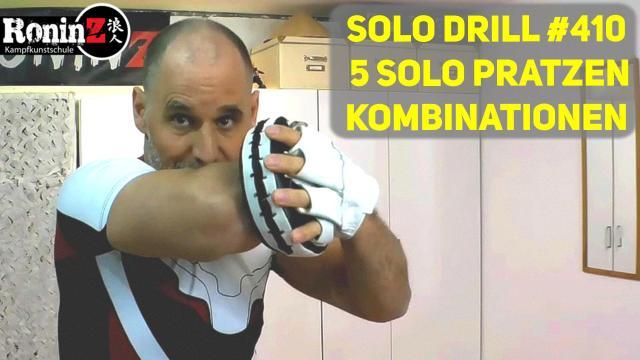 Solo Drill #410 5 Solo Pratzen Kombinationen