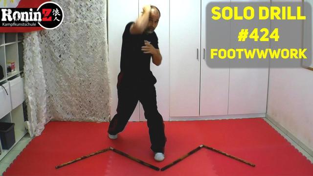 Solo Drill #424 Footwwwork