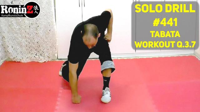 Solo Drill #441 Tabata Workout Q.3.7