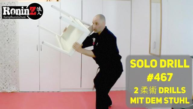 Solo Drill #467 2 JJ Drills mit dem Stuhl