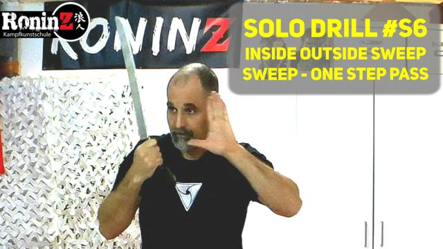 Solo Drill S6 Inside Outside Sweep - Sweep - One Step Pass