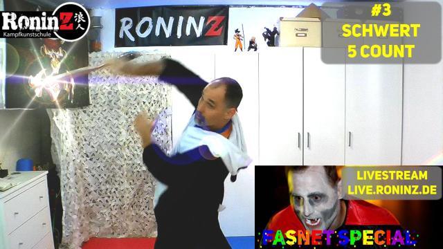 RoninZ Fasnets Special N3 Schwert 5 Count