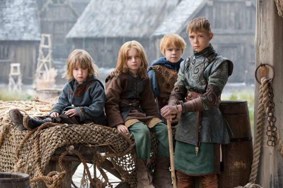 13 sekretów zdrowia dzieci Wikingów