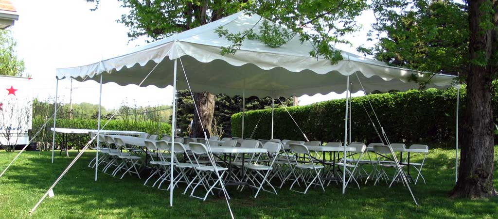 Tents Tables and Chairs  Hire Long Island Magicians