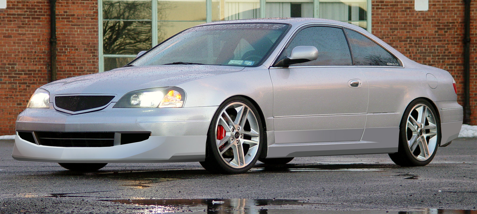 hight resolution of ronjon sport design 2001 03 acura cl urethane lip kit gb acurazine acura enthusiast community
