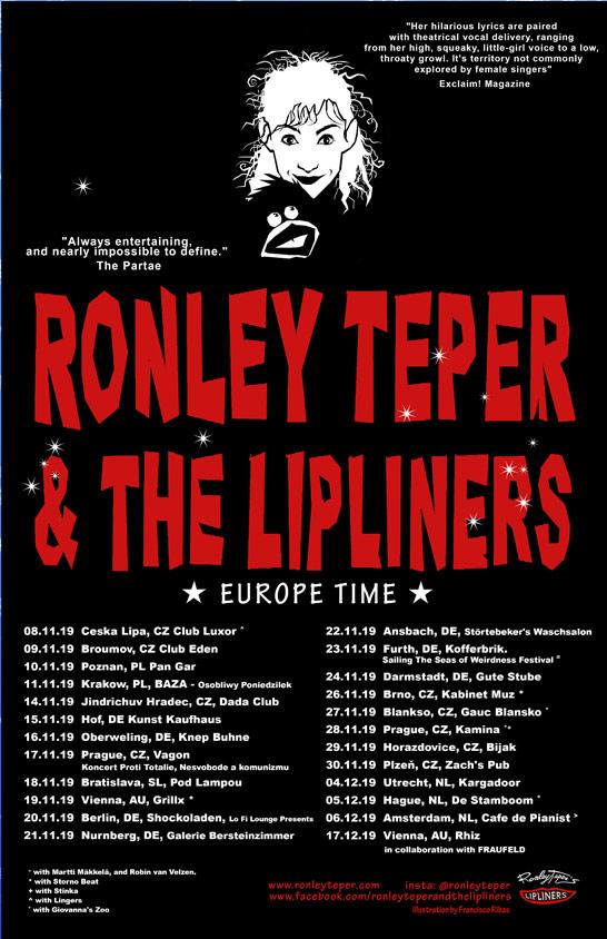 2019 Europe Tour Poster