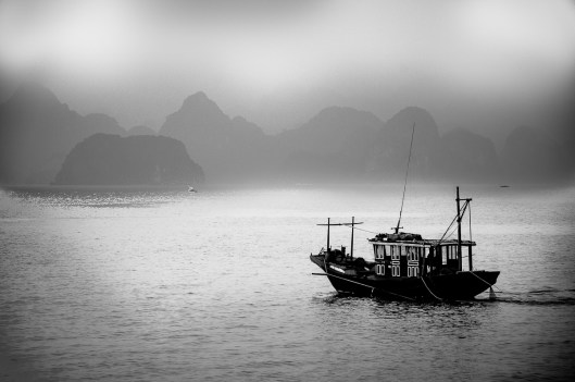 Fishermen of Halong Bay, Vietnam