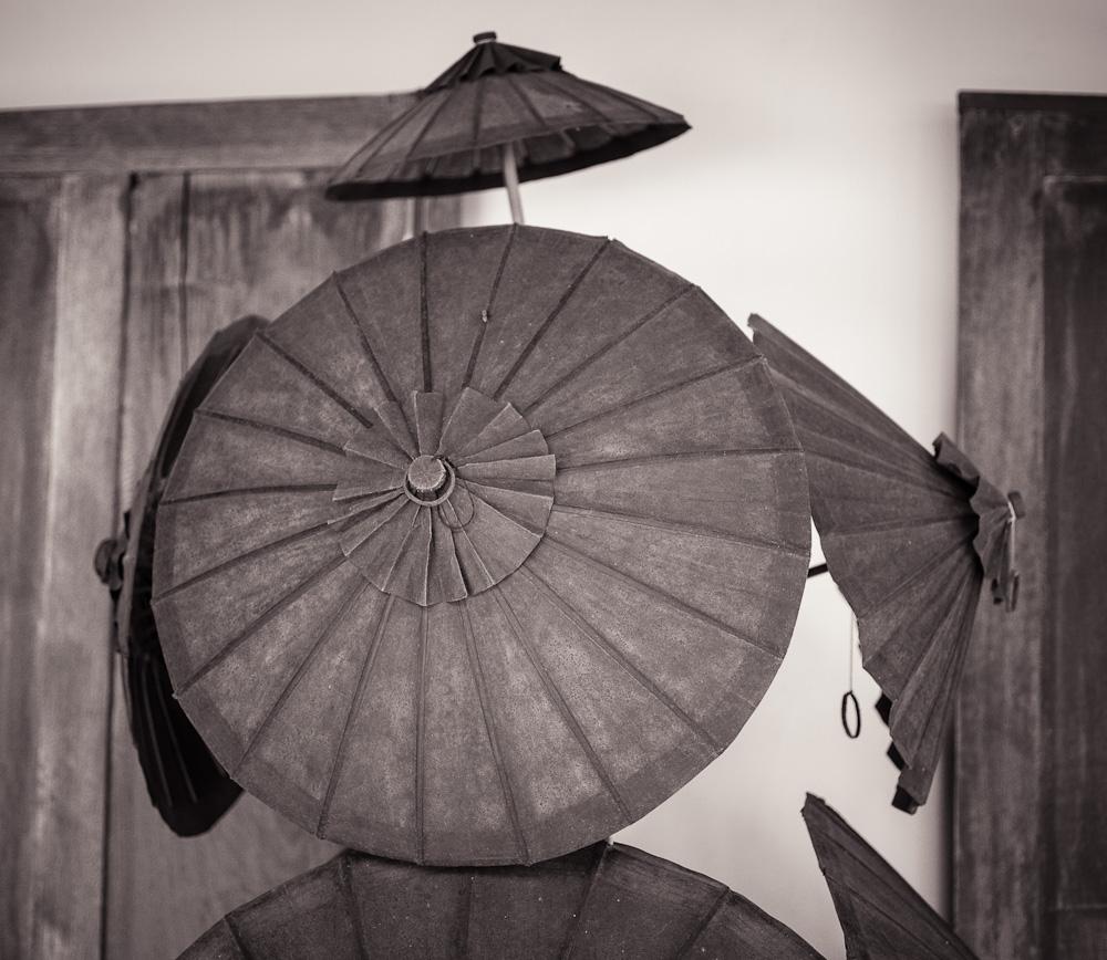 Umbrellas, Luang Prabang