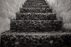 Stairs - Hacienda Cusin near Otavalo, Ecuador