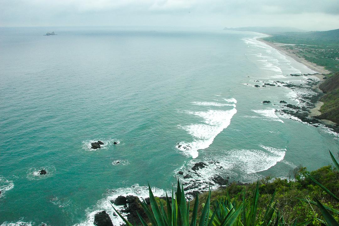 Beyond  the Pacific Coast of Ecuador