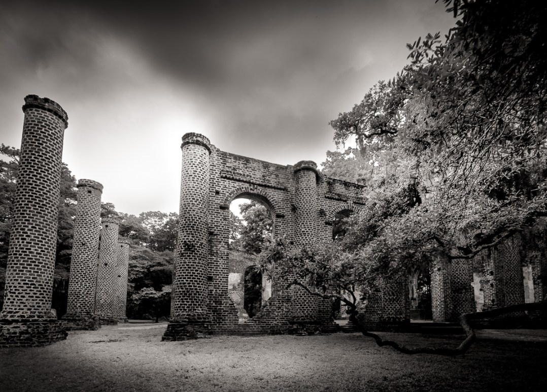 Sheldon Church Ruins, South Carolins