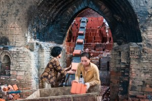 Vietnam Brick kiln Photo